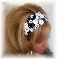 How to Make a Button Headband