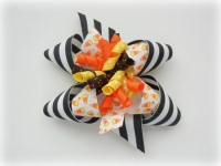 Inside Out Halloween Bow