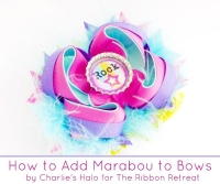 How To Add Marabou To Bows