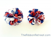 How To Make A Loopy Puff Bow