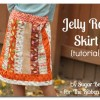 Jelly Roll Skirt Tutorial