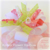 Korker Flower Hairbow