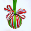 Ribbon Wrapped Christmas Ornament