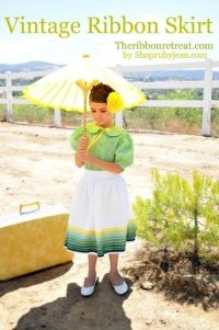 how to make a traditional ribbon skirt