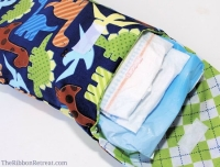Diaper and Wipes Case