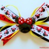 Spikey Minnie Mouse Hair Clip