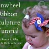 Pinwheel Ribbon Sculpture