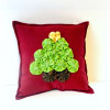 Yo Yo Christmas Tree Pillow