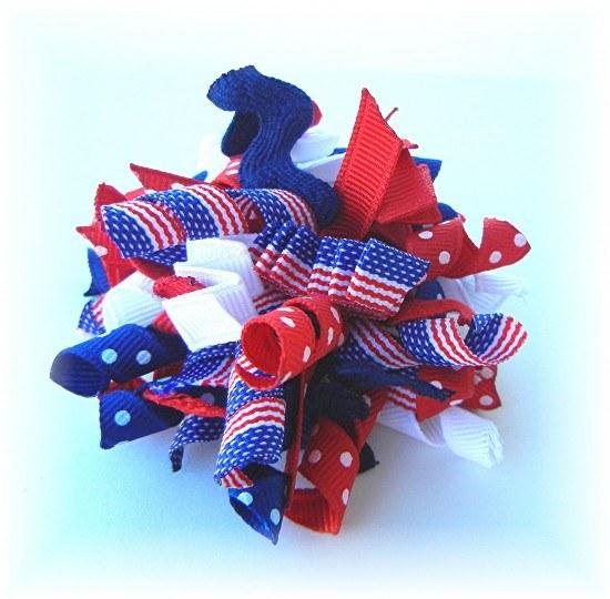 4th Of July Striped Ribbon