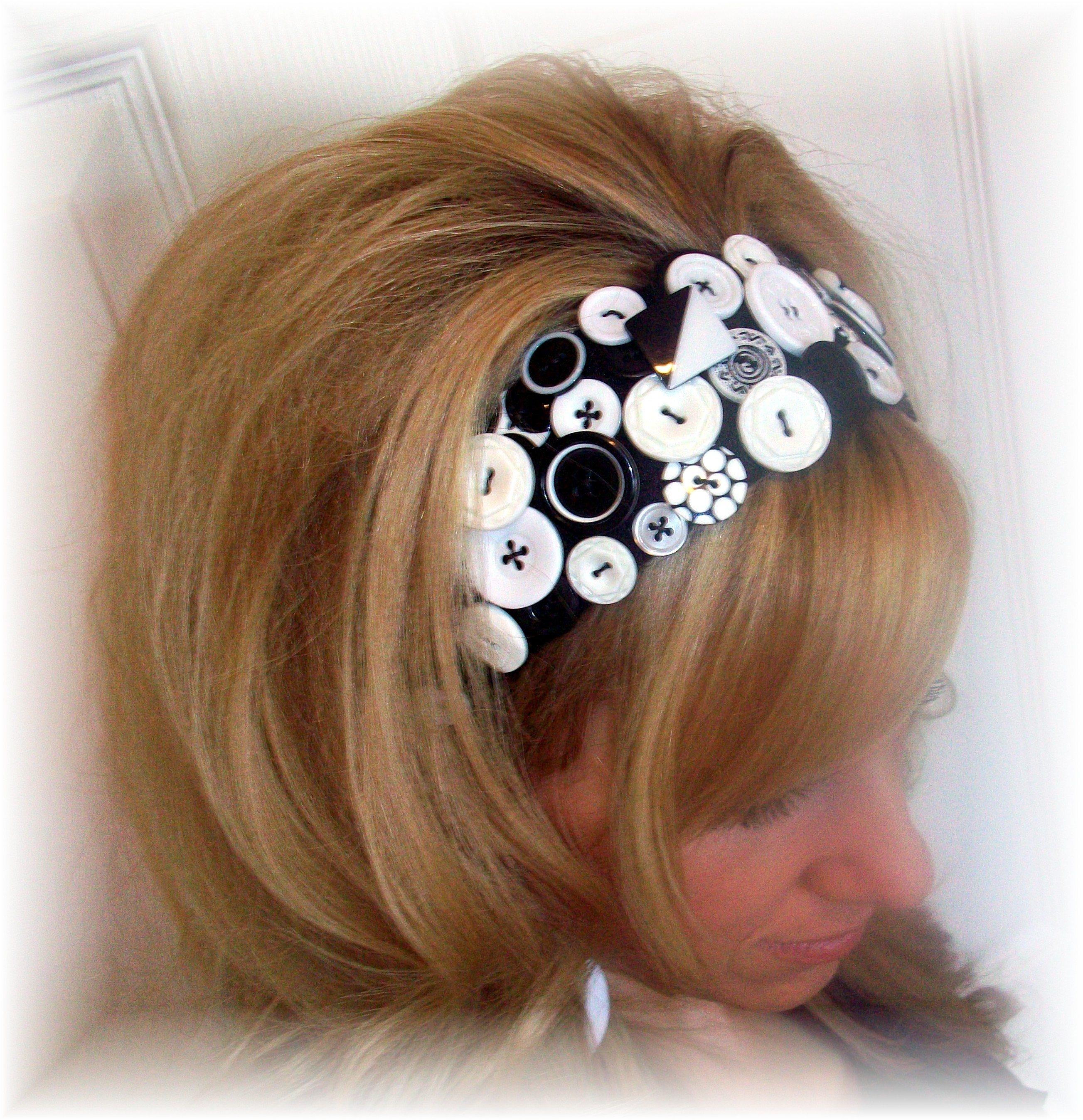 Стильные украшения для волос своими руками