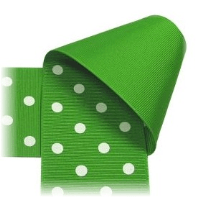 2.25 inch Polka Dot Ribbon