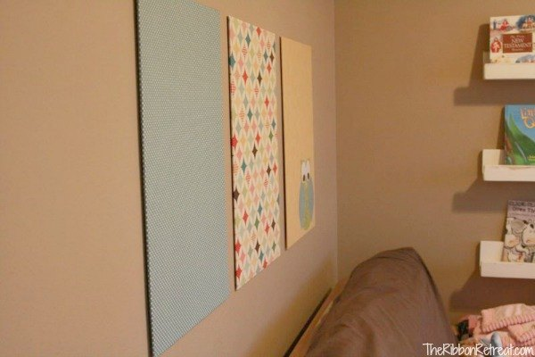How To Make A Fabric Wall Hanging The Ribbon Retreat Blog