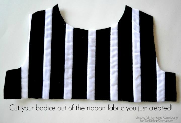 Velvet Ribbon Bodice Tutorial - The Ribbon Retreat Blog