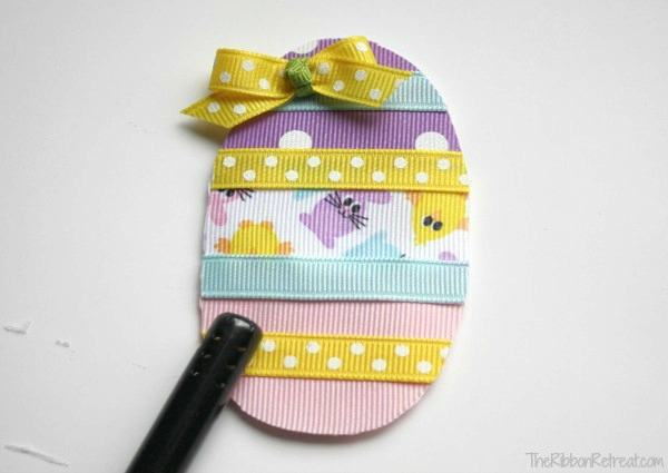 Easter Egg Ribbon Sculpture - The Ribbon Retreat Blog