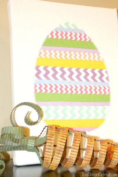 Ribbon Easter Egg - The Ribbon Retreat Blog
