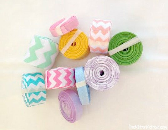 Ribbon Easter Egg Decor - The Ribbon Retreat Blog