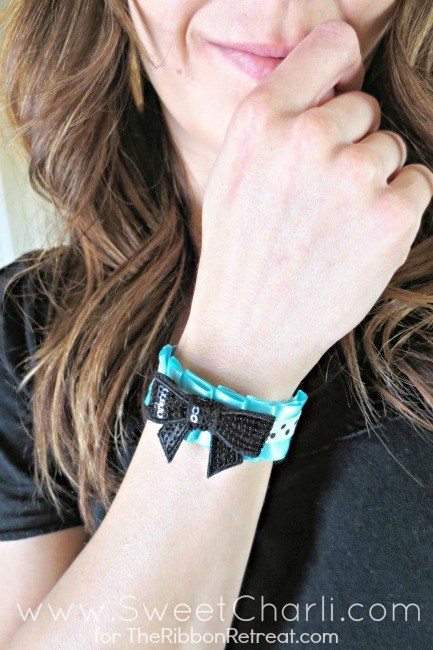 Ruffled Ribbon Bracelets - The Ribbon Retreat Blog