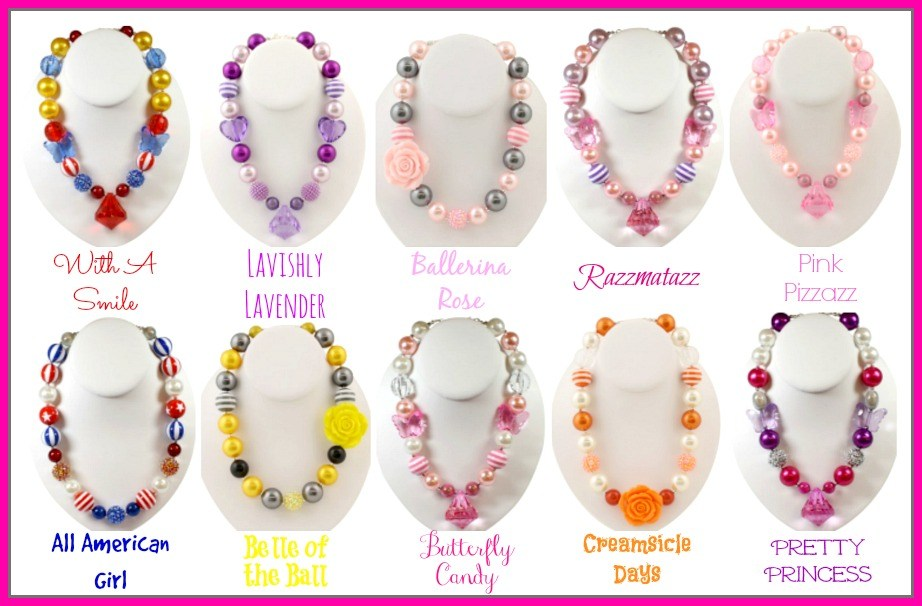 Brand New Bubble Gum Necklace & $50.00 Gift Certificate ...