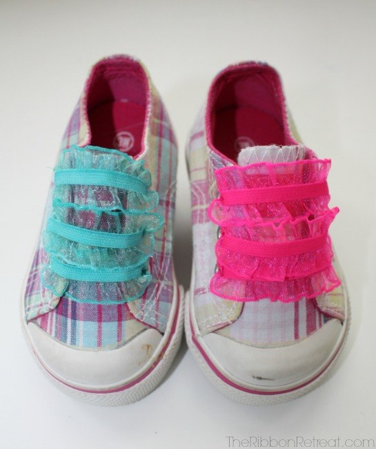 Elastic Shoelaces - The Ribbon Retreat Blog