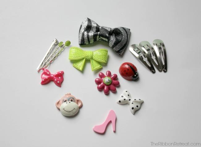 Fun With Resins, Bobby Pins and Clips - The Ribbon Retreat Blog