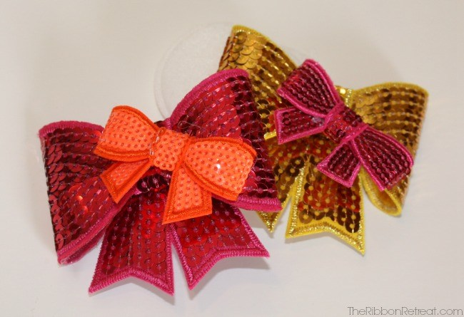 Glitter Bow Headbands - The Ribbon Retreat Blog