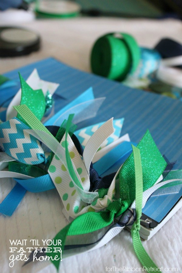 Ribbon Notebook, for Summer - The Ribbon Retreat Blog