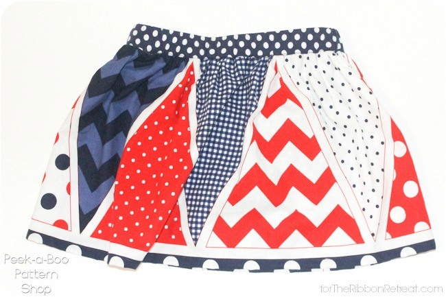 Easy Star Spangled Skort - The Ribbon Retreat Blog