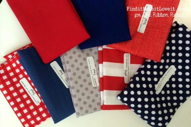 4th of July-fabric, canvas, ribbon (3)