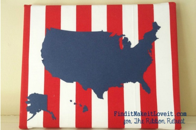 4th of July-fabric, canvas, ribbon (14)
