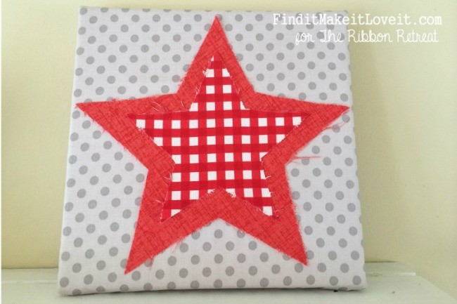 4th of July-fabric, canvas, ribbon (15)