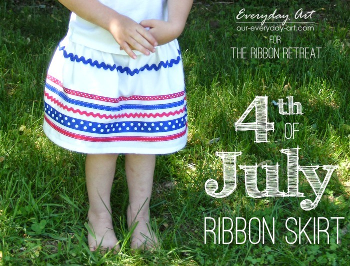 4th of July Ribbon Skirt - The Ribbon Retreat Blog