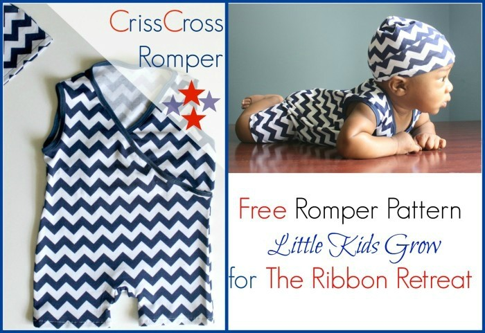 Criss Cross Romper - The Ribbon Retreat Blog