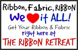 Fabric and Ribbon Button