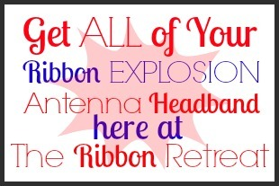 Ribbon Explosion Antenna Headband