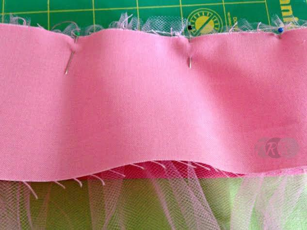 Tiered Skirt with a Tulle Surprise - The Ribbon Retreat Blog