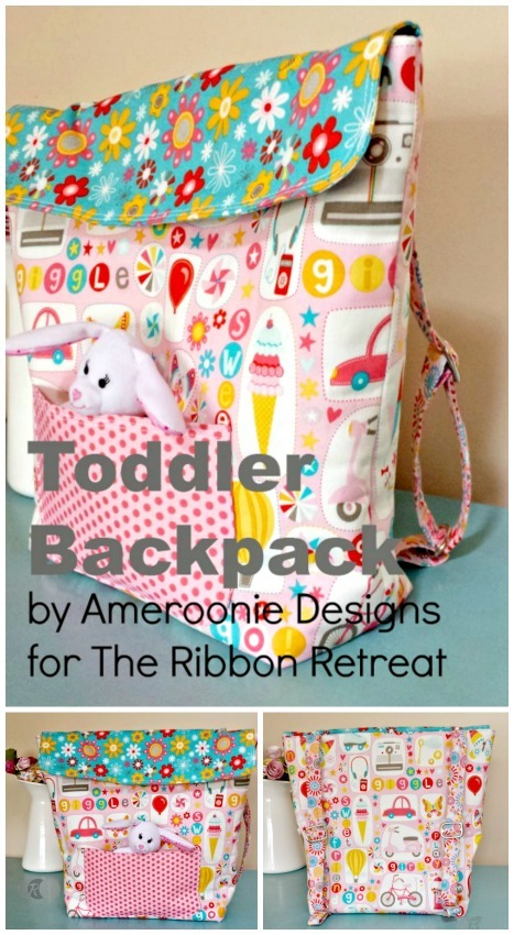 Toddler Backpack - The Ribbon Retreat Blog