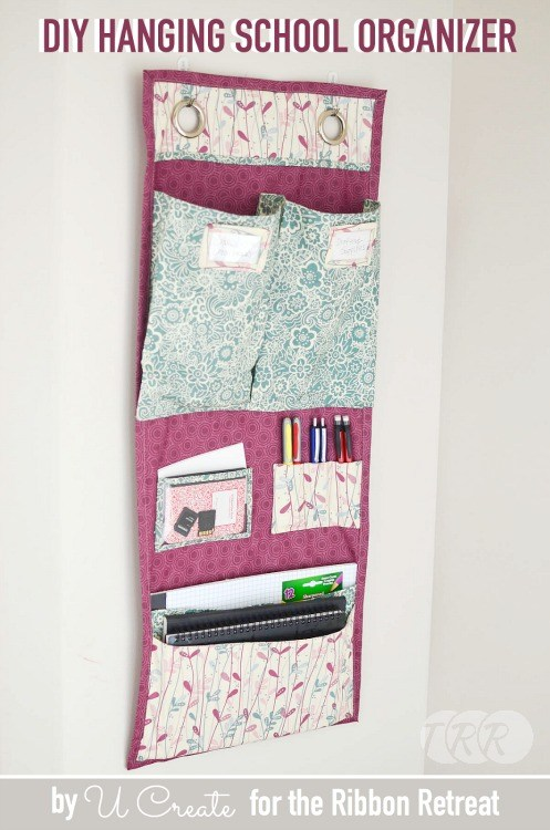 "DIY Undergrad Dorm Room Organizer and a HUGE Giveaway {A-Z Series ""U""}"