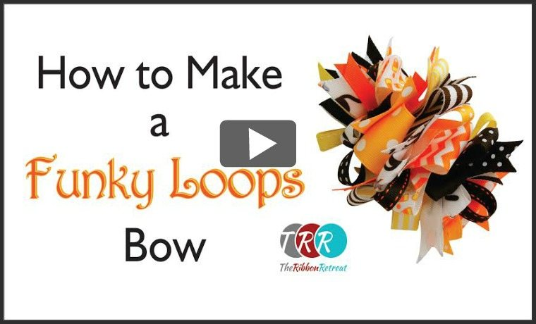 How To Make A Funky Loops Bow, YouTube Thursday - The Ribbon Retreat Blog