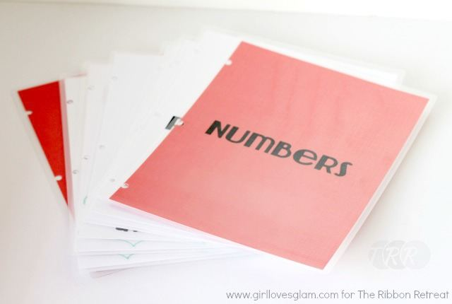 "Number Book {A-Z Series, ""N""} - The Ribbon Retreat Blog"