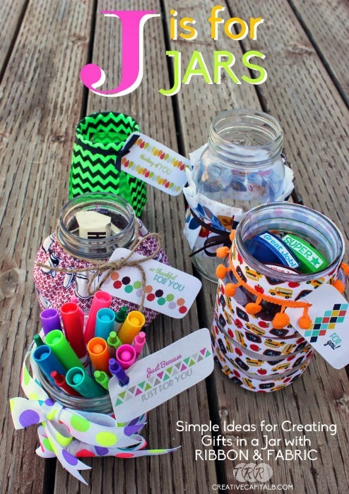 "Ribbon Jar Gifts and Printable Jar Tags {A-Z Series, ""J""} - The Ribbon Retreat Blog"