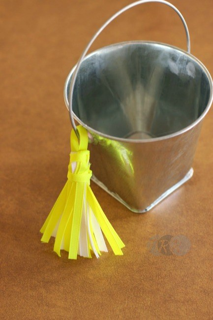 "Ribbon Tassel Bucket Supply Caddy {A-Z Series, ""C""} - The Ribbon Retreat Blog"