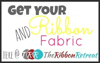 Ribbon and Fabric Button