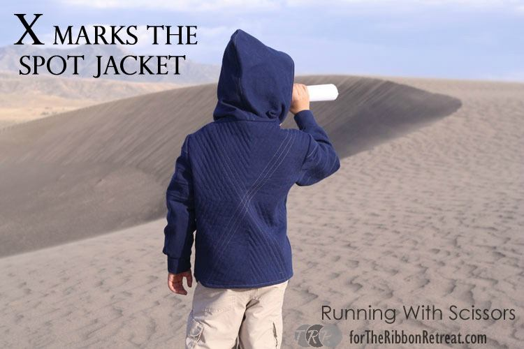 "X Marks the Spot Jacket {A-Z Series, ""X""} - The Ribbon Retreat Blog"