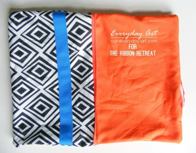 "Easy Zipper Pouch {A-Z Series, ""Z""} - The Ribbon Retreat Blog"