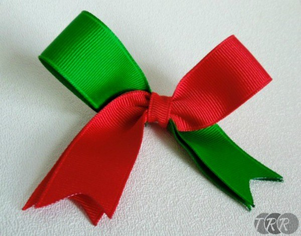 how to make cheer bows easy