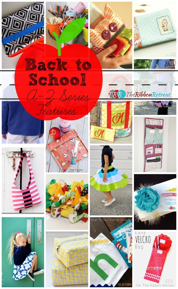 Back to School, A-Z Series Features - The Ribbon Retreat Blog