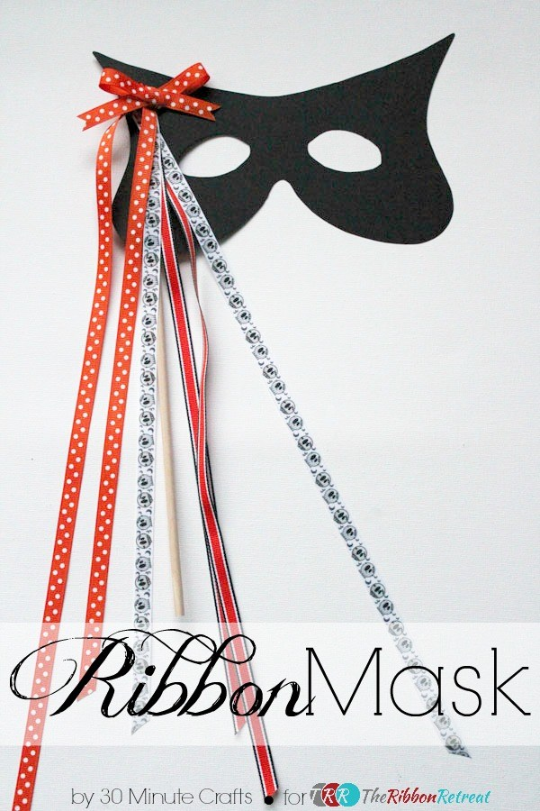Easy Ribbon Mask Tutorial