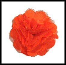 Orange Pom Posy