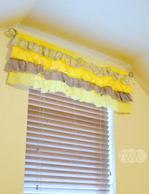 Fantastic How To Sew A Ruffled Valance Curtain - The Ribbon Retreat Blog RQ54