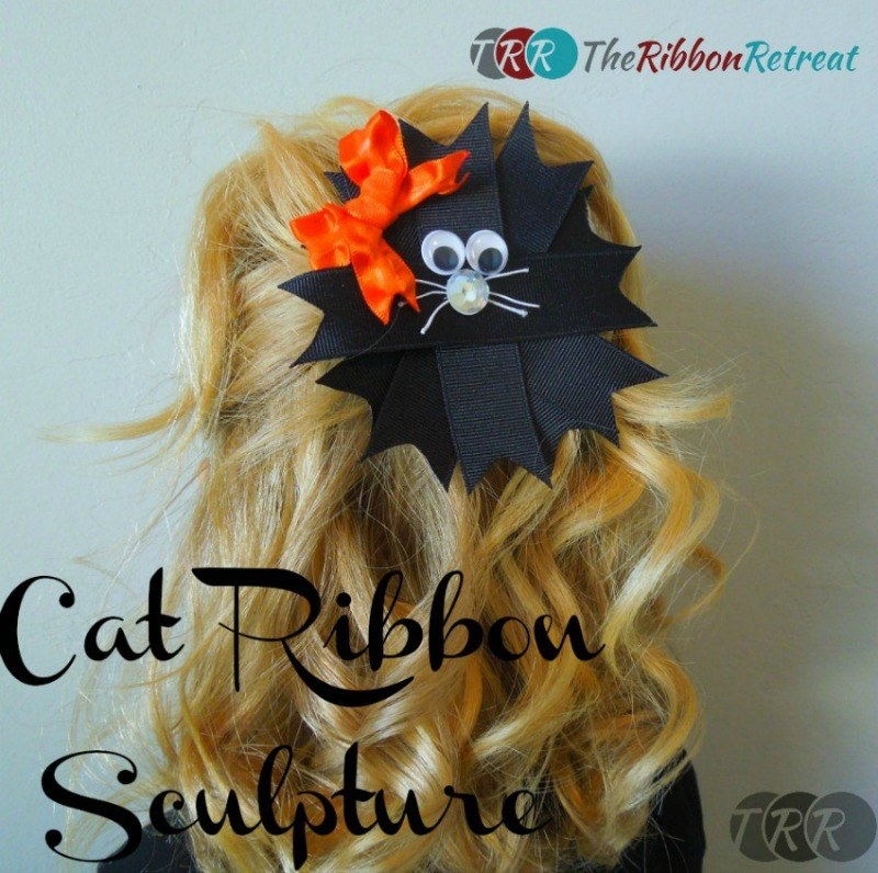 Cat Ribbon Sculpture - The Ribbon Retreat Blog